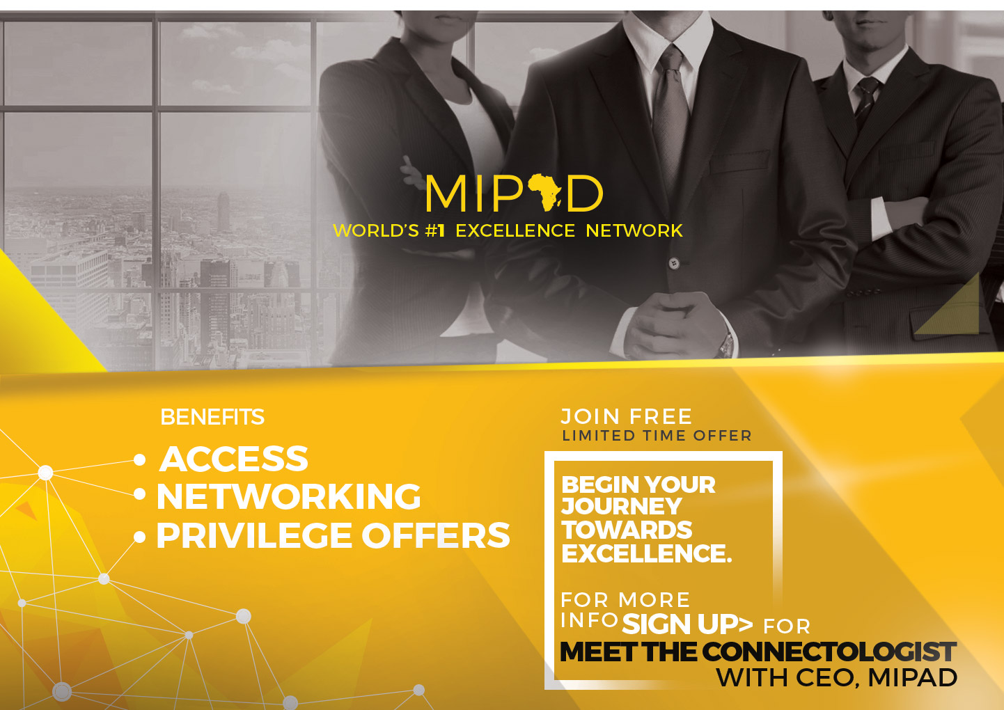 MIPAD Global Network Benefits